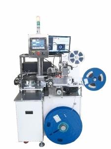 鑫力嘉公司依客戶需求設計的視覺檢查自動封包機。 鑫力嘉/提供