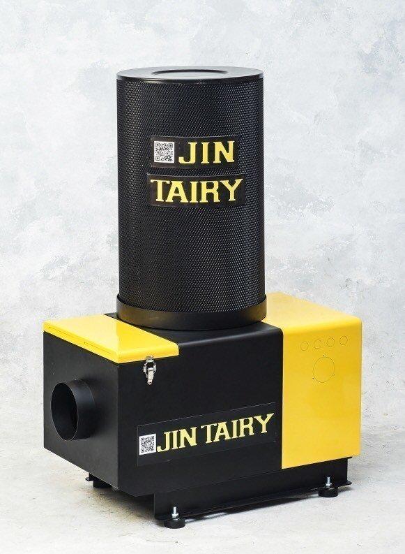 郡泰電子以工業設計及流體力學全新改良的「JT-智能高效環保油霧淨化機」。 郡泰電子/提供