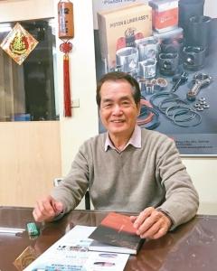 明芝亞負責人劉香山表示,MATSUYAMA品牌產品深獲買主肯定與信賴。 楊逢峮/攝影