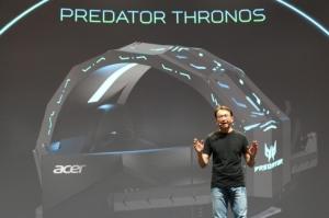 Cens.com News Picture 满足玩家终极梦想 宏棋推电竞座舱Predator Thronos