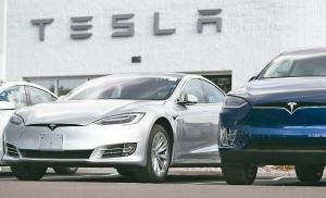 電動車大廠特斯拉準備提供平價電動車款「Model 3」的租借服務,以刺激需求。 網路照片