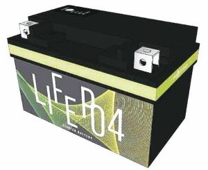 兰阳能源推出12V7号机车启动电池。 兰阳/提供