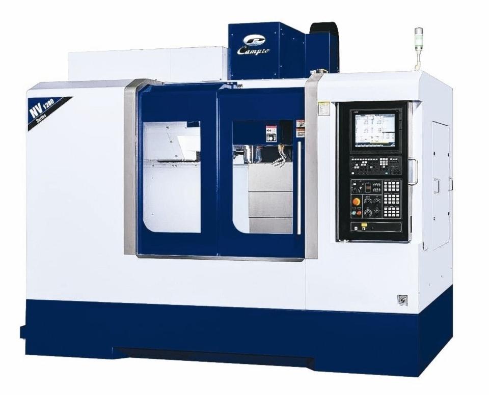 凱柏精機NV-1280立式加工機,獲研究發展創新產品競賽綜合加工機類佳作獎。 凱柏精機/提供