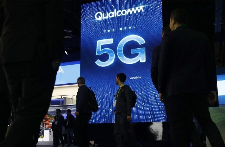 從華為到聯發科等亞洲晶片製造商,無不摩拳擦掌,想挑戰高通在5G數據機晶片的優勢地位。 美聯社