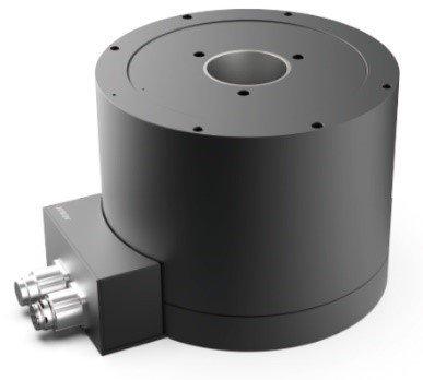 大銀微系統絕對式解角器直驅馬達系統TMY65D。 上銀科技/提供