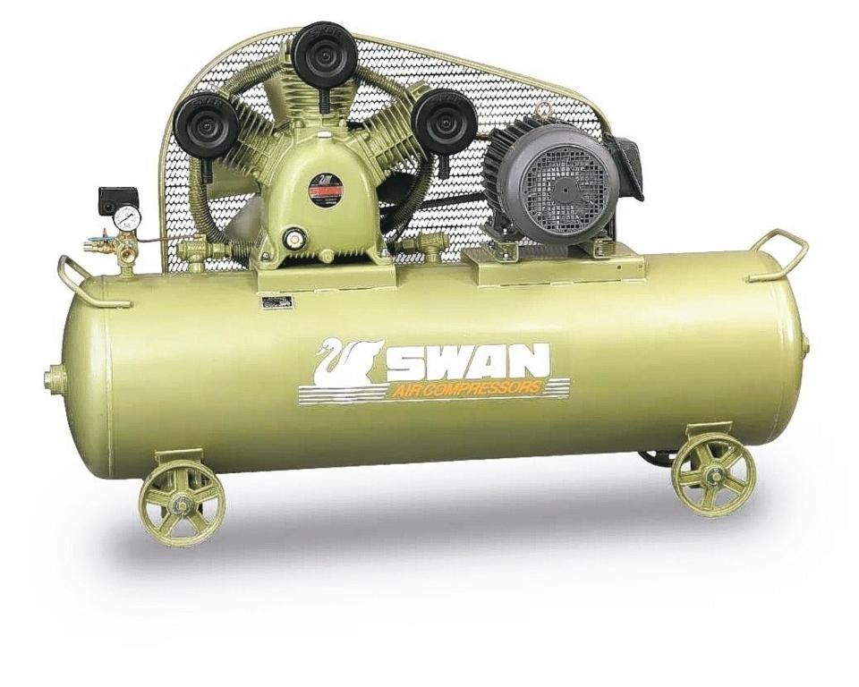東正鐵工廠SWAN天鵝牌空氣壓縮機、高效節能首選。 東正鐵工廠/提供