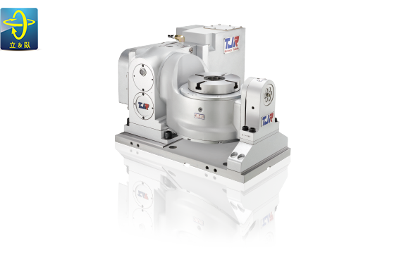 CNC雙軸滾子凸輪4-5軸分度盤。 潭佳精密/提供