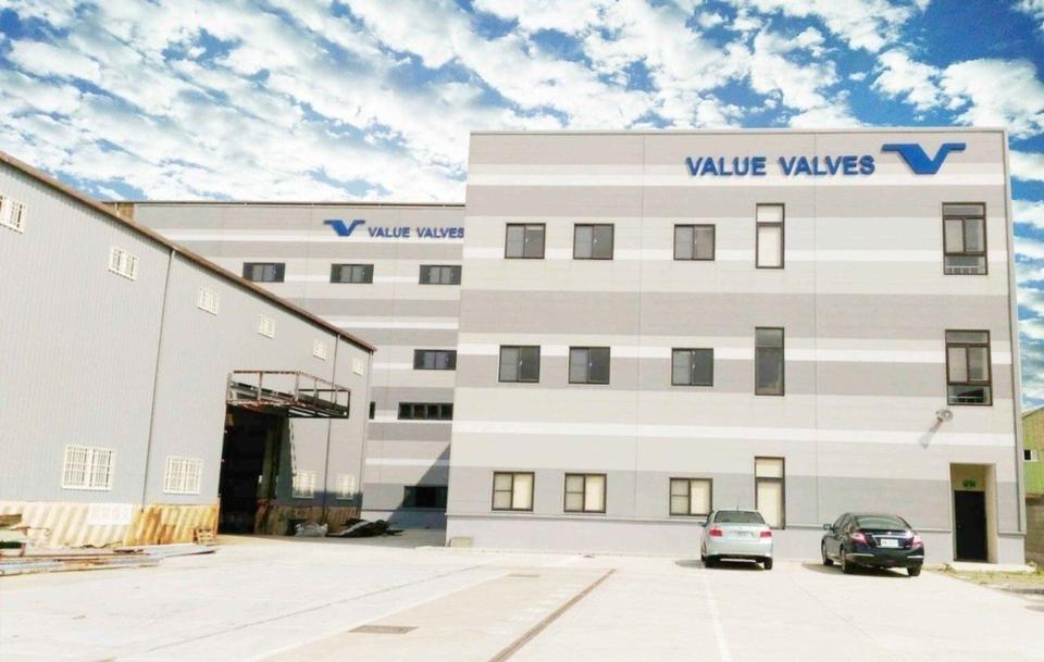 捷流閥業桃園觀音鑄造廠,採用全球領先的真空V法鑄造技術。業者/提供