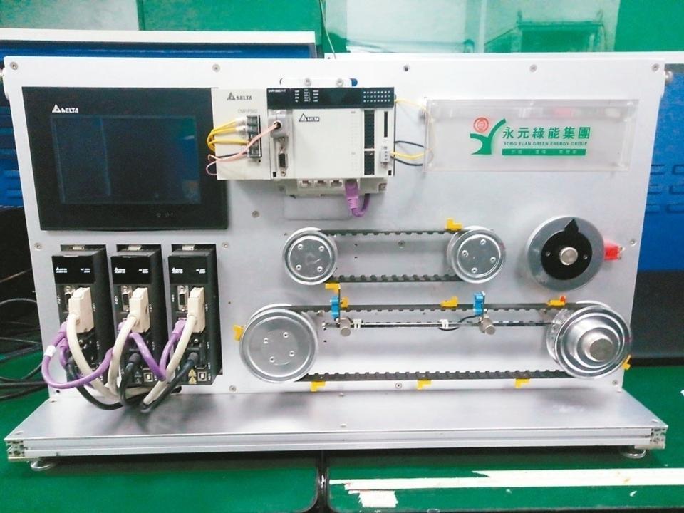 綠能集團永元電機接軌工業4.0智慧製造,發展自動搬運器(AGV)智能傳動系統。 永元電機/提供