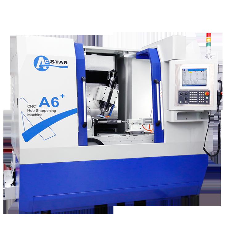 宏旺精密機械(ACSTAR)機械有限公司新推出CNC A6+型滾齒刀修銳研磨機。 宏旺精密/提供