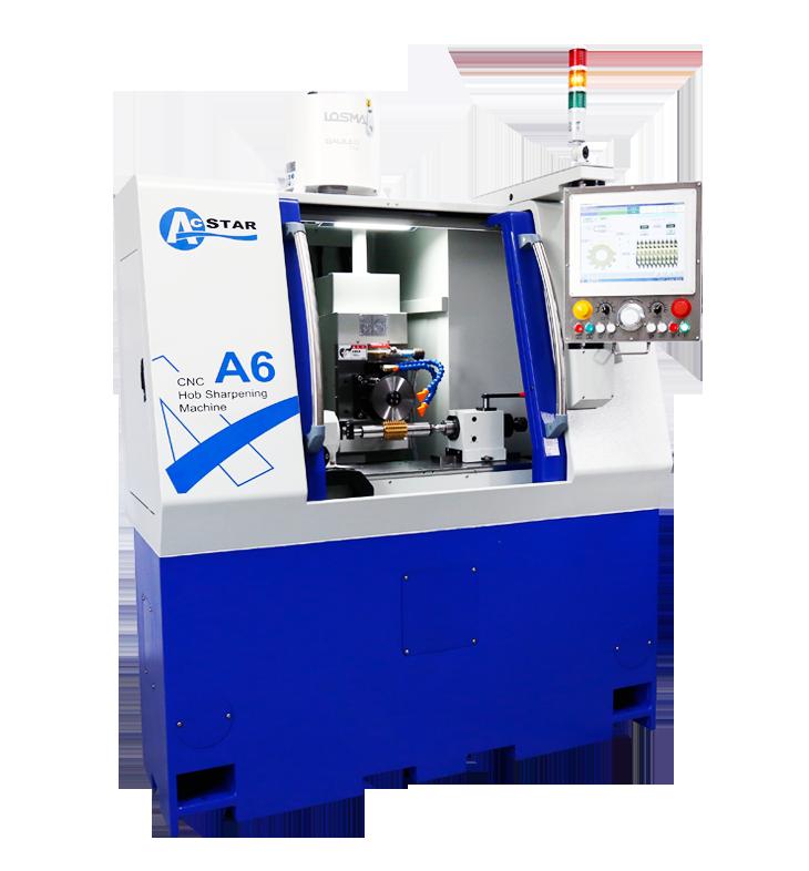 宏旺精密機械(ACSTAR)機械有限公司新推出CNC A6型滾齒刀修銳研磨機。 宏旺精密/提供