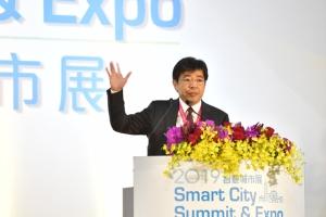 工研院院長劉文雄應邀出席2019智慧城市展開幕暨頒獎典禮