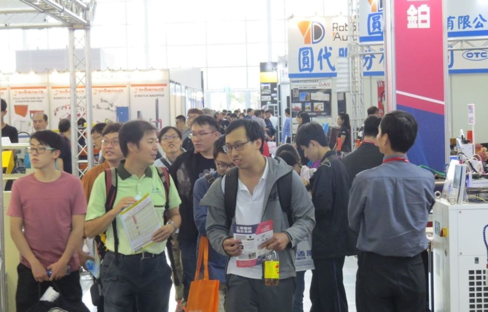 Southern Taiwan's biggest trade show Kaohsiung Industrial Automation Exhibition 2019 boasts a strong reputation in Taiwan and abroad, attracting crowds of visitors over the weekend. (Photo taken by EDN)