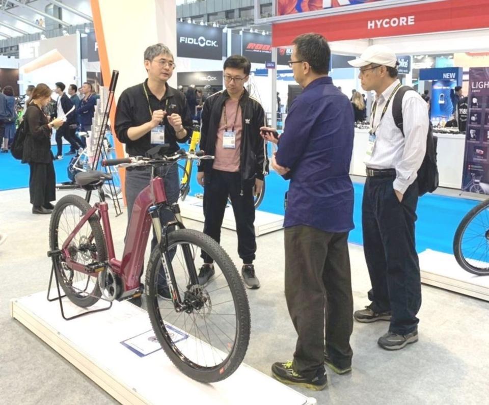 電動輔助自行車配套系統成果展示。 CHC/提供