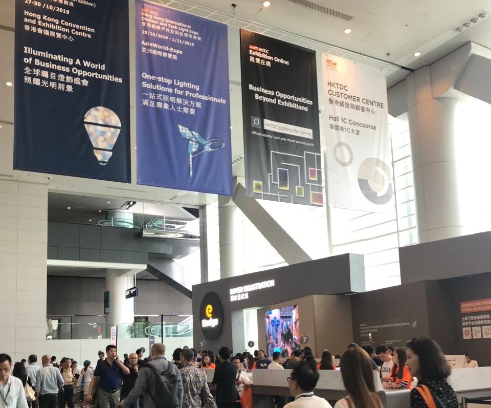 2019香港春季燈飾展開展首日展況(游志龍 攝影)