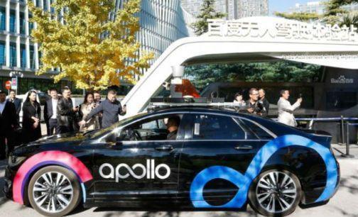 百度自動駕駛計程車下半年在長沙有百輛上路。取自北京商報