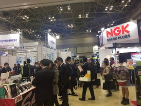 Crowds at the exhibition(photo provided by TAIPEI AMPA)