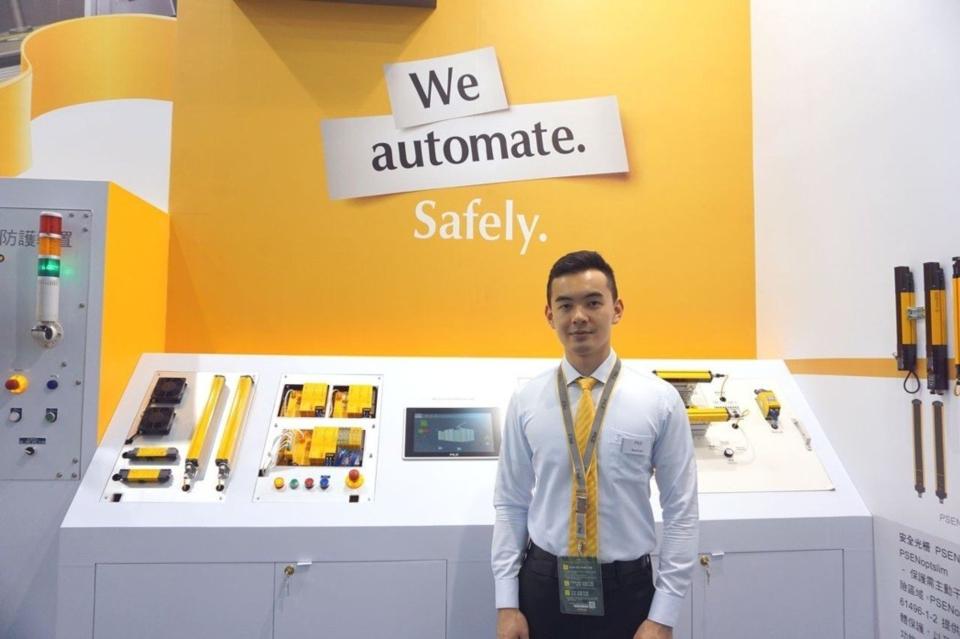 高雄自動化展專業工程師現場服務。 金萊萊/攝影