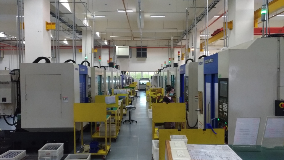 Leeart Industry Co., Ltd.'s CNC manufacturing equipment rolls out top quality products. (photo provided by Leeart Industry)