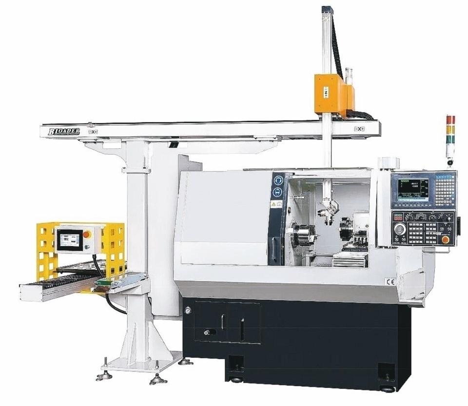 富豪「隼」系列泛用門型機械手,自動化、低成本、回收快。 富豪機電/提供