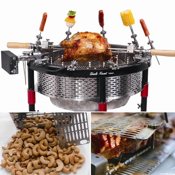 "Ting Shan Enterprise Co., Ltd.'s newest product ""Uncle Roast"" makes barbecuing easier, healthier and better. (photo provided by Ting Shan)"