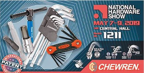 Chewren's new L KEY Hex wrenches are at the top of the game.(photo provided by Chewren)