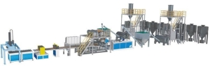 Everplast Machinery/E-Plast successfully developed SPC extrusion machine lines. (photo provided by Everplast)