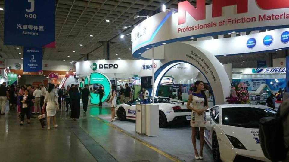 2019年「台北國際汽車零配件展」、「台北國際車用電子展」、「台灣國際智慧運輸展」與「台灣國際電動汽機車展」將於4月24日登場。黃淑惠攝