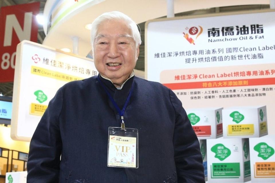 南僑集團會長陳飛龍。記者陳正興攝影
