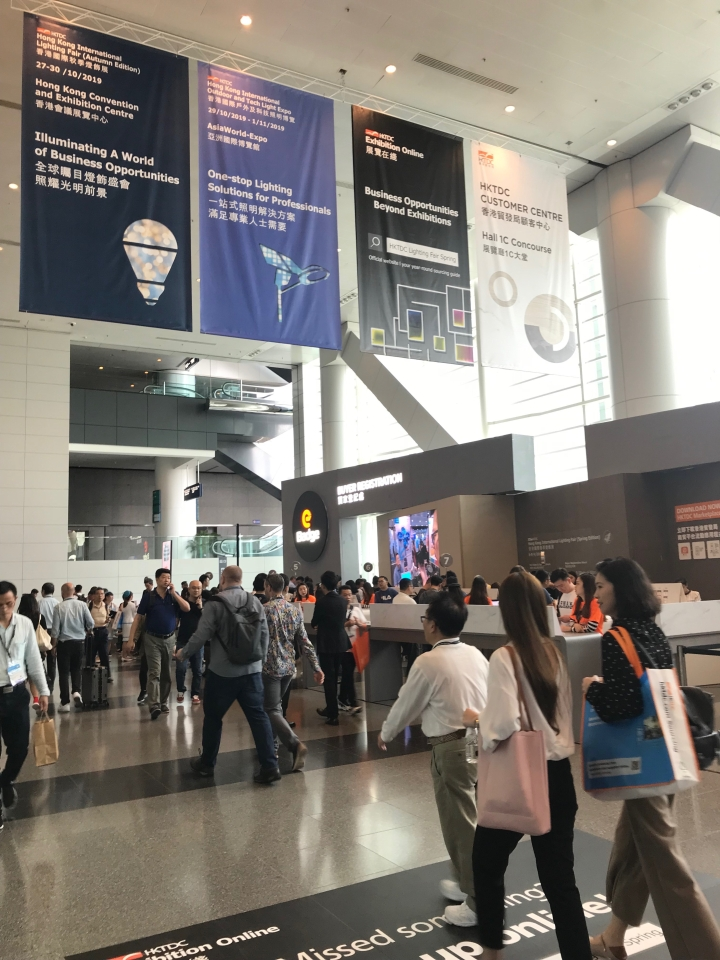 2019 Hong Kong Lighting Fair(Spring Eidition)smart lighting prospects look good IoT and artificial intelligence into focus,attracts approximately 21,000 buyers.