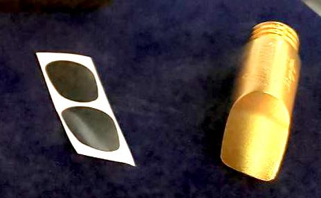 銅器焊接手工打造的薩克斯風吹嘴,精緻細膩製程,堅持高品質一條龍生產作業