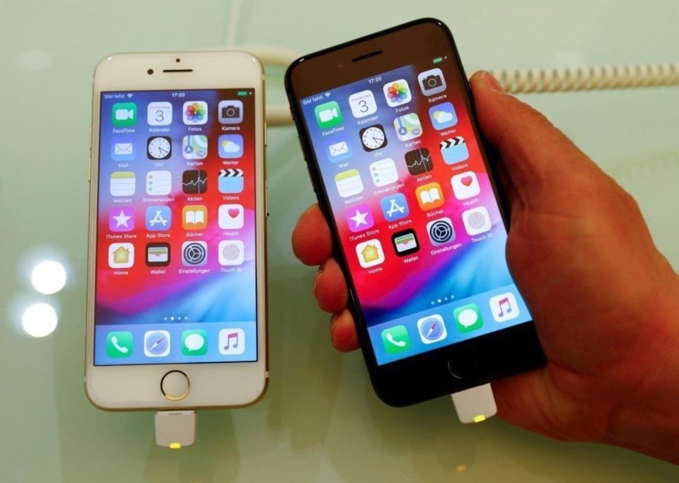 美中貿易戰開打,台灣手機、電腦供應鏈恐受波及。照片為示意圖。 路透社