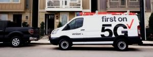 圖1:美國的Verizon,是全球第一家提供5G服務的電信商 (資料來源:https://www.verizonwireless.com/5g/)