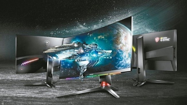 微星跨入曲面電競螢幕短短二年,即在市場中占有一席之地。 圖/微星提供