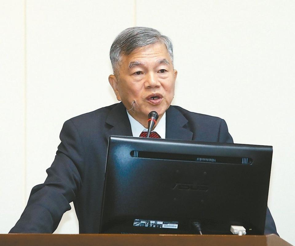 經濟部長沈榮津 記者曾吉松/攝影