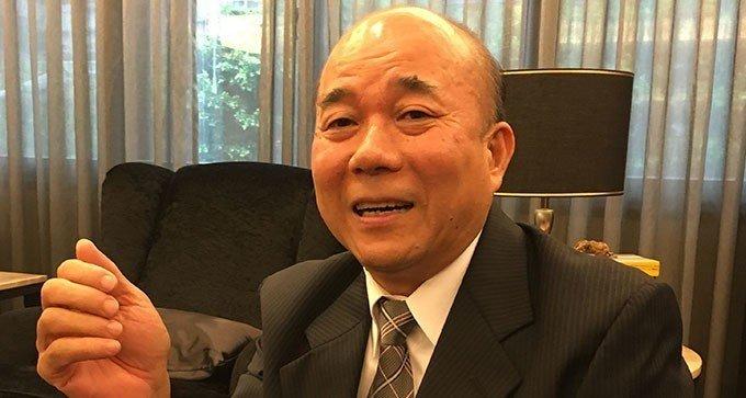 台灣機械公會理事長柯拔希。記者宋健生/攝影
