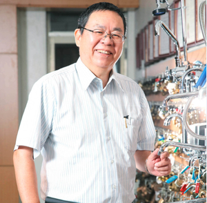 "Under the assistance of ITRI, the plumbing township has undergone an industrial transformation by leading the industry to embrace automation and introduce AI development, thus changing the traditional ""3Ds""dangerous, dirty, difficult) image in the plumbing industry.  Plumbing Association of Taiwan President Wu, Yih-dar. (photo courtesy of ITRI)"