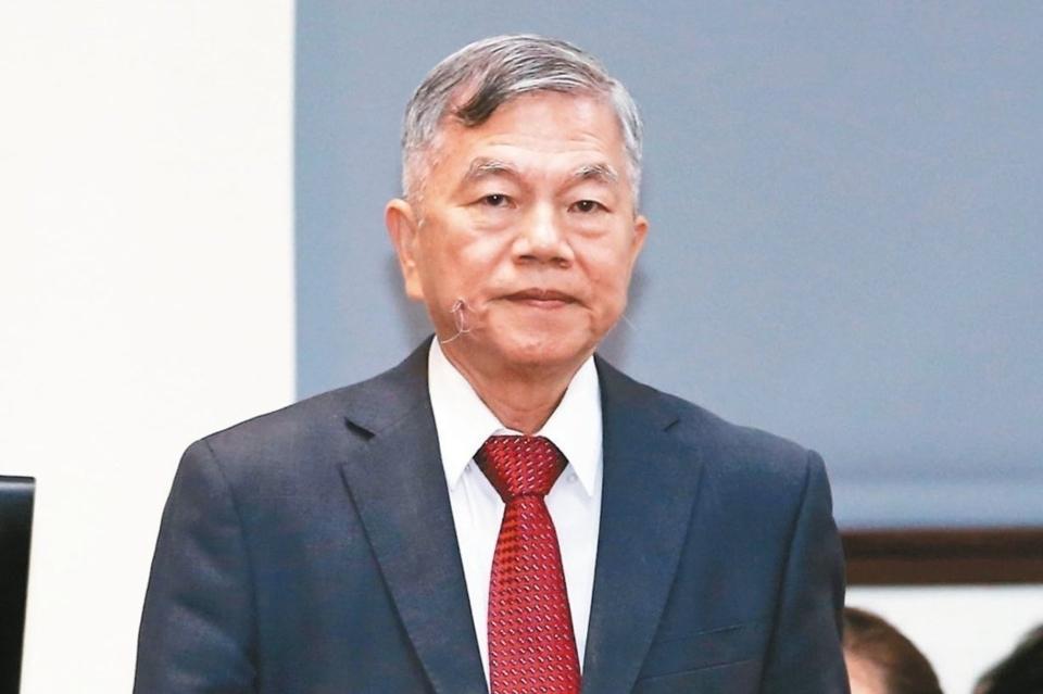 經濟部長沈榮津 (本報系資料庫)
