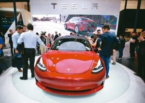 特斯拉全電動車設計車款。 路透