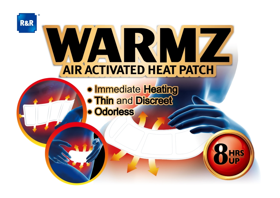 Warmz Air-Activated Heat Patch.
