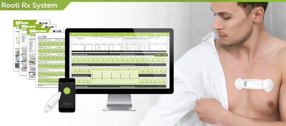 Rooti Medical Smart Monitoring System (photo provided by REFRONT IOMT CORP.)