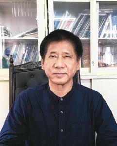 明昌油封公司董事長陳益昌。 李崇淦/攝影
