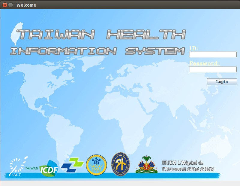 Taiwan Health Care Information System (photo provided by Taoyuan General Hospital, Ministry of Health and Welfare)