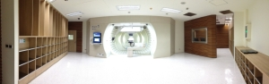 Proton therapy center (photo provided by Kaohsiung Chang Gung Memorial Hospital)