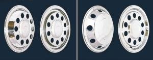 冠勉卡车、货车轮圈装饰盖产品。 冠勉公司/提供