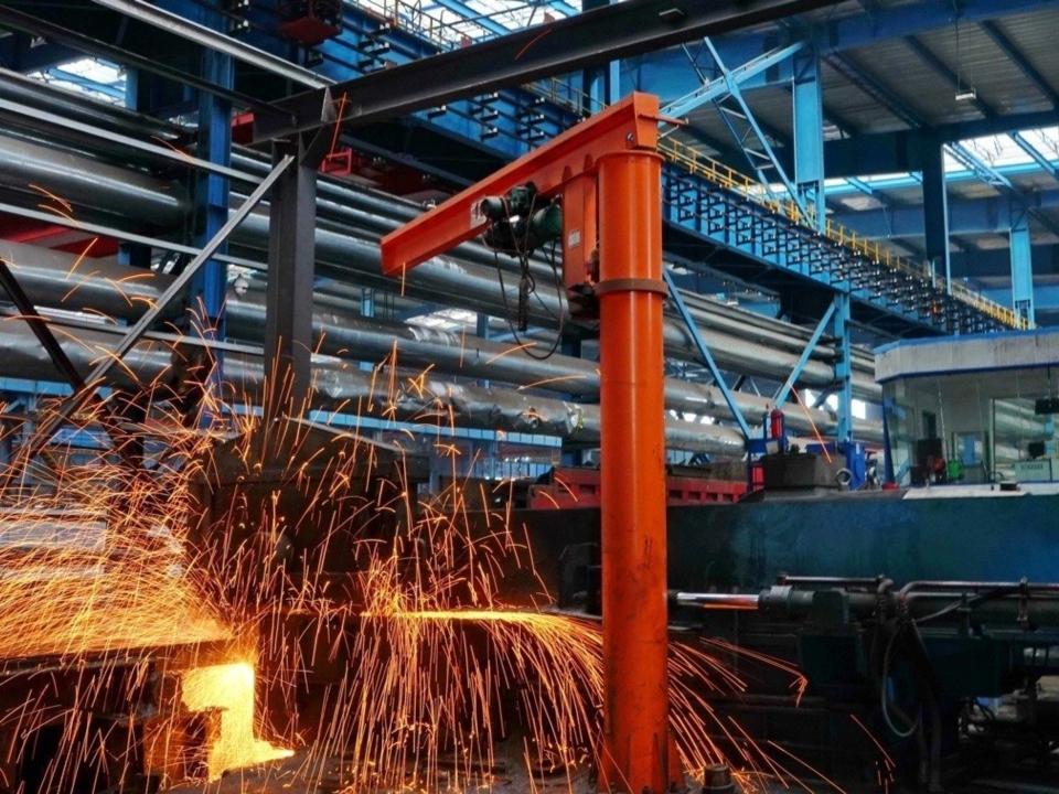 據中鋼協測算,礦價上漲,使噸鋼製造成本上升人民幣240元左右。新華社資料照片