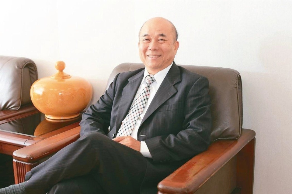 The chairman of Taiwan Association of Machinery Industry (TAMI) ,Alex KO (photo provided by TAMI)