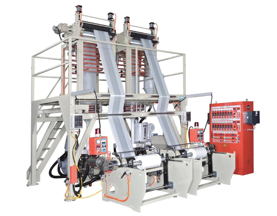 Blown film machines have been one of the mainstay segments of Taiwan's machinery industry (photo courtesy of UDN.com).