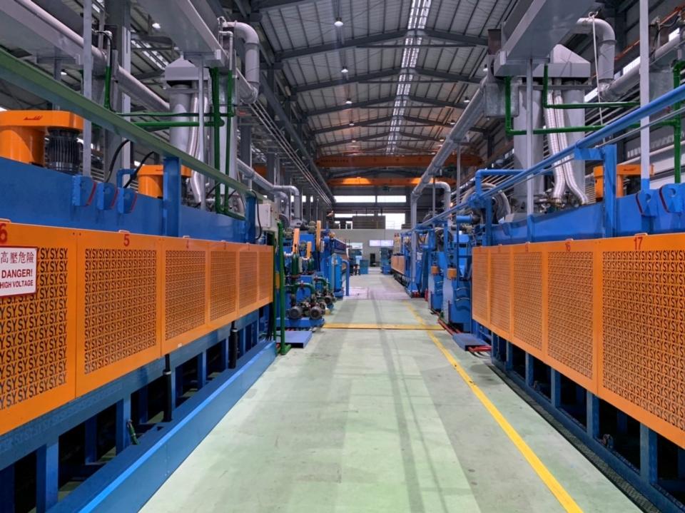 瑞滬企業為台灣螺絲業者少數自己擁有的熱處理廠