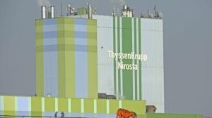 蒂森克虜伯在內公司向歐盟提出反傾銷投訴。 (美聯社)